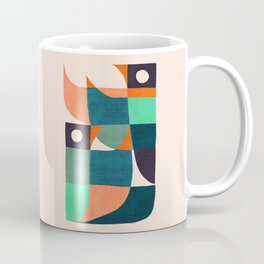 Two birds dancing Coffee Mug