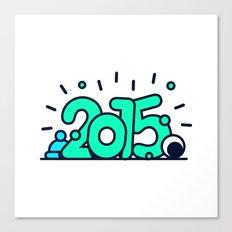 HAPPY 2015! Canvas Print