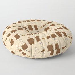 More Bourbon Floor Pillow