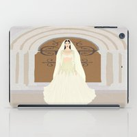 bride iPad Cases featuring The Bride by RaJess