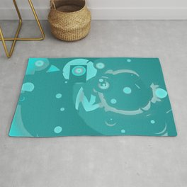 Abstract colorful design Rug