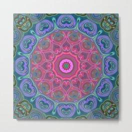 Star Flower of Symmetry 626 Metal Print