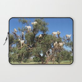Goats in a tree Laptop Sleeve