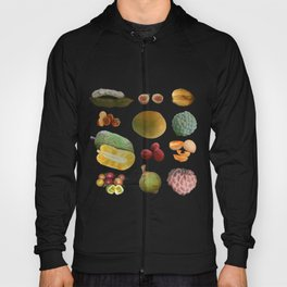 Exotic Fruit Collage Hoody