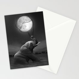 Bringing Light to the Darkness Stationery Cards