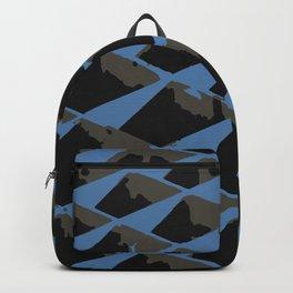 Grate in vectors Backpack