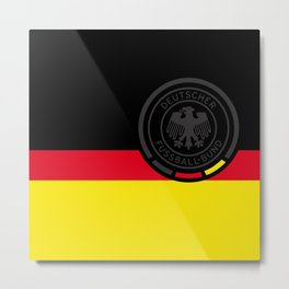 GERMAN Football Association Metal Print