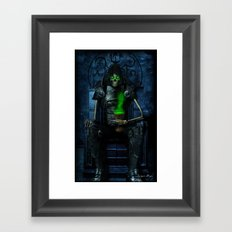 Mythic Occult Series: The Conquering Horseman Framed Art Print