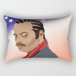 Murica, It's been a crazy night. Rectangular Pillow