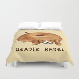 Beagle Bagel Duvet Cover