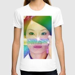 O-Ren Ishii Rainbow Katana T-shirt