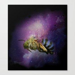 Bee Galaxy Canvas Print