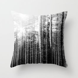Forest V Throw Pillow
