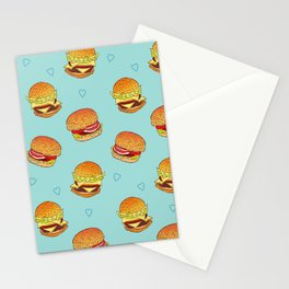 Hearty Burgers Stationery Cards