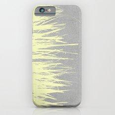 Concrete Fringe Yellow Slim Case iPhone 6s