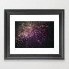 Fireworks 2017 Framed Art Print