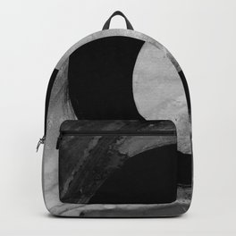 Enso Abstract No. 8K by Kathy Morton Stanion Backpack