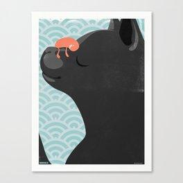 SlumberBean Cat Nap Canvas Print