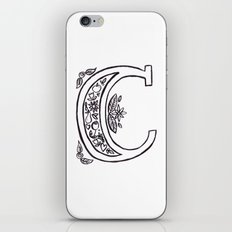 C is for iPhone & iPod Skin