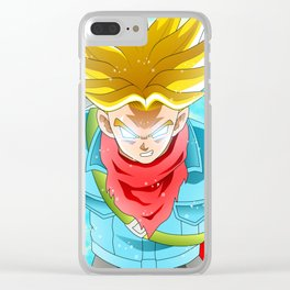 Trunks god Clear iPhone Case