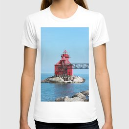Sturgeon Bay Ship Canal North Pierhead Light House T-shirt