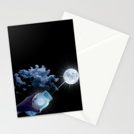 Carry Moonbeams Home in a Jar Stationery Cards