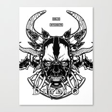 Diablo III. Witch Doctor Canvas Print