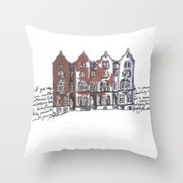 York, England Throw Pillow