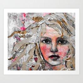 Layered Art Print