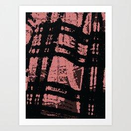 blush n blotch Art Print