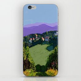Vineyard View iPhone Skin