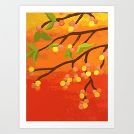 Braches (Autumn) Art Print