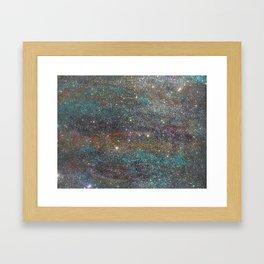 Explosive Blessings Framed Art Print