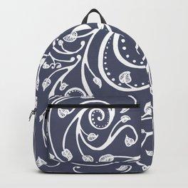 Vines in Blue Backpack