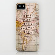 I've got the travel bug iPhone (5, 5s) Slim Case