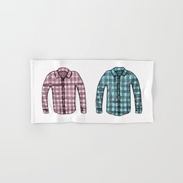 Flannel shirts Hand & Bath Towel