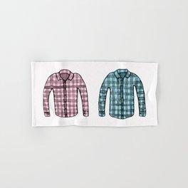 Flannel shirts Hand & Bath Towel