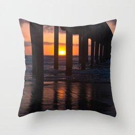 Sunset Captured Throw Pillow