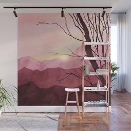 Sunset & landscape Wall Mural