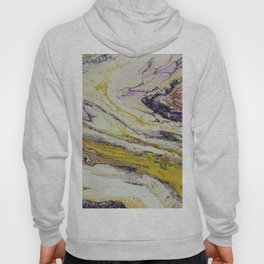 Planet of reptiles, abstract, acrylic on canvas Hoody