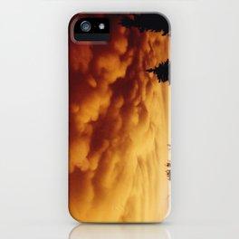 Mammatus iPhone Case