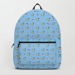 Merpug and Sealife Pattern Backpack