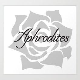 Aphrodites Logo Art Print