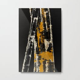Bamboo Branch Metal Print