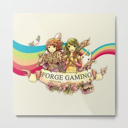 Forge Gaming Network - Stay positive 2014 Metal Print