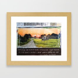 Little Juke Joint Framed Art Print