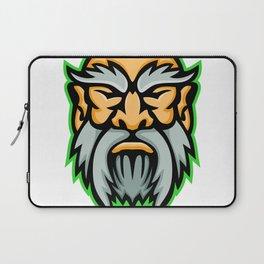 Cronus Greek God Mascot Laptop Sleeve
