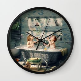 "H. Ch. Andersen tale motive  ""The Ugly Duckling"" Wall Clock"