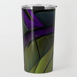 Peacock Green Travel Mug