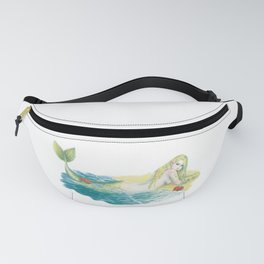 South Atlantic Ocean Mermaid Fanny Pack